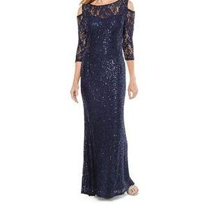 Blu Sage formal gown